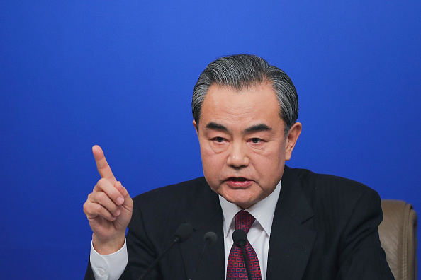 Press Room「China's Foreign Minister Wang Yi Holds News Conference」:写真・画像(9)[壁紙.com]