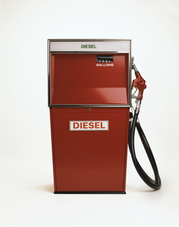 Oil Industry「Vintage diesel gas pump」:スマホ壁紙(3)