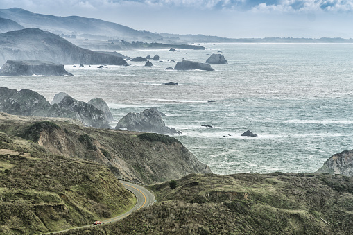 California State Route 1「Driving by the ocean」:スマホ壁紙(10)