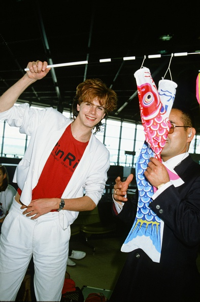 Carp「Duran Duran John Taylor With Gift Flying Carp In A Station」:写真・画像(15)[壁紙.com]