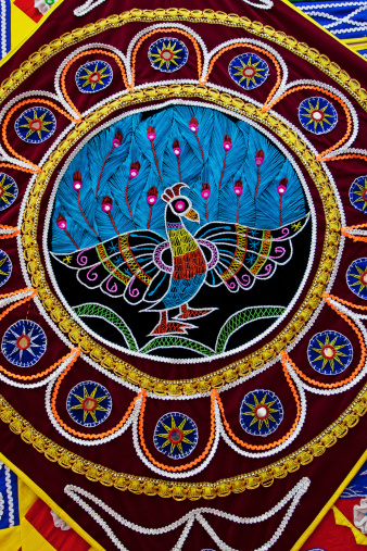 Embroidery「Applique Work at Pipli near Puri for decoration」:スマホ壁紙(14)