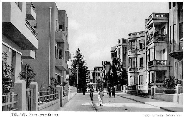Tel Aviv「Tel Aviv. Bauhaus style apartment blocks」:写真・画像(5)[壁紙.com]