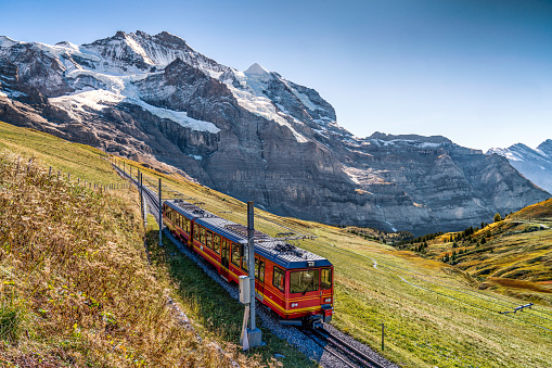 Swiss Alps「the Jungfrau railway」:スマホ壁紙(17)