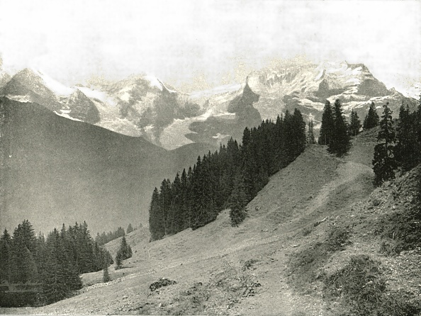 Mountain「The Jungfrau And Her Neighbours」:写真・画像(9)[壁紙.com]