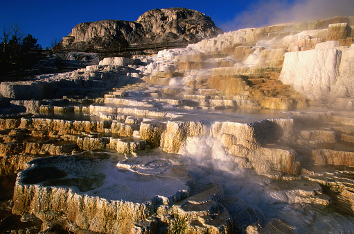 Mammoth Hot Springs「Minerva Terrace, Mammoth Hot Springs, Yellowstone National Park, United States of America」:スマホ壁紙(11)