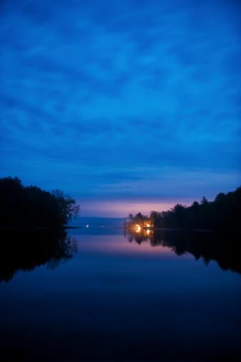 Adirondack Mountains「Great Lake Sacandaga」:スマホ壁紙(14)