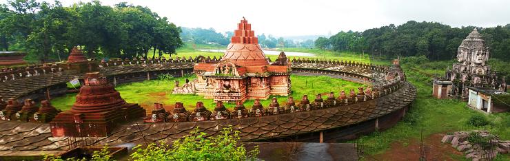 Himachal Pradesh「Yantra Temple in Amarkantak, Madhya Pradesh, India」:スマホ壁紙(7)