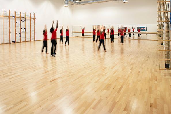 Hardwood Floor「Jo Richardson School, Dagenham, Greater London」:写真・画像(4)[壁紙.com]