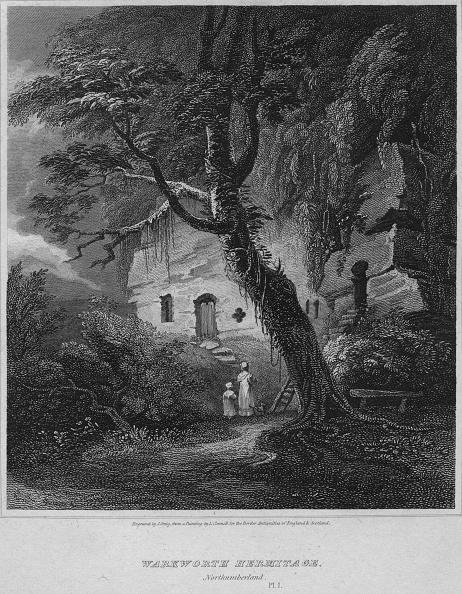 Footpath「Warkworth Hermitage, Northumberland, 1814」:写真・画像(16)[壁紙.com]
