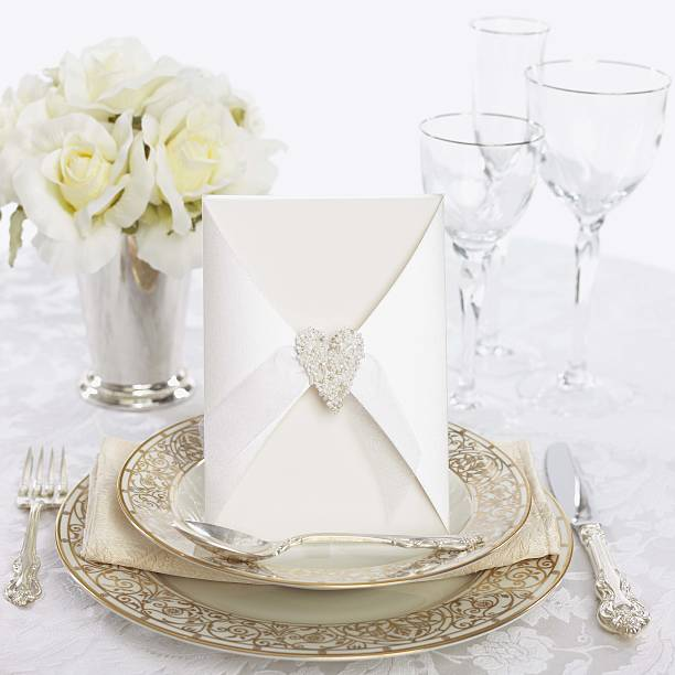 Wedding place setting:スマホ壁紙(壁紙.com)