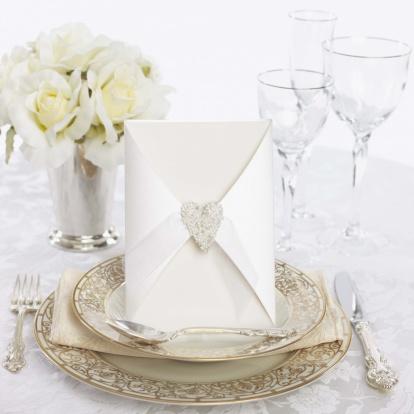 テーブルセッティング「Wedding place setting」:スマホ壁紙(11)