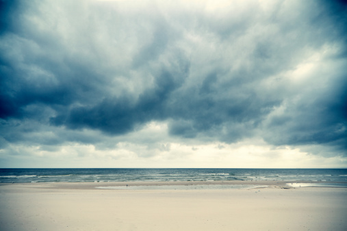Baltic Sea「Dramatic clouds over the Baltic Sea」:スマホ壁紙(0)