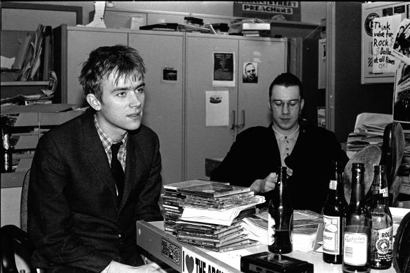 NME Magazine「Blur Damon Albarn NME Office 1992」:写真・画像(6)[壁紙.com]