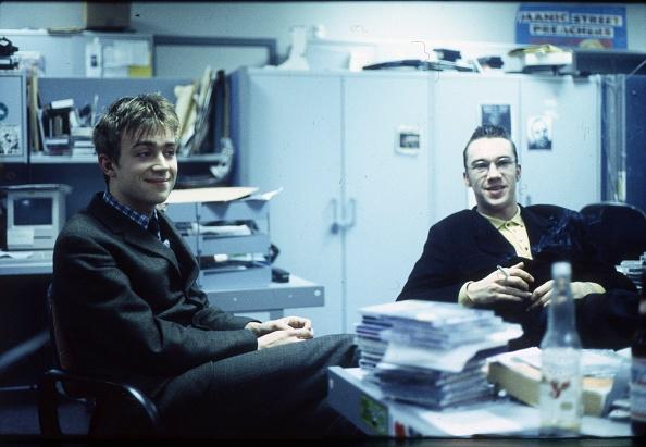NME Magazine「Blur Damon Albarn NME Office 1992」:写真・画像(14)[壁紙.com]