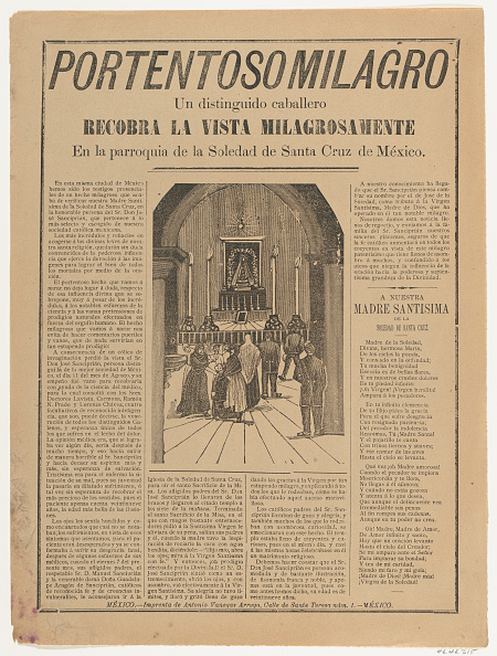 Eyesight「Broadsheet Relating To A Miracle That Occured When A Distinguished Man Regained H」:写真・画像(6)[壁紙.com]
