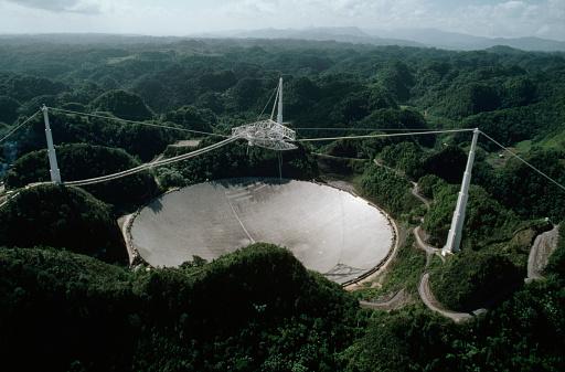 1980-1989「Arecibo Radio Telescope」:スマホ壁紙(2)