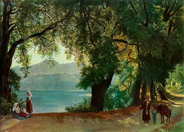 Volcanic Landscape「Lake Nemi Near Rome」:写真・画像(18)[壁紙.com]