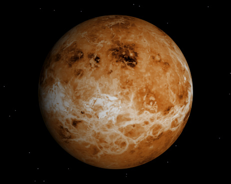 Solar System「Venus」:スマホ壁紙(8)