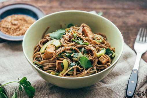 Buckwheat「Japanese Otsu Salad with buckwheat noodles, Soba」:スマホ壁紙(12)