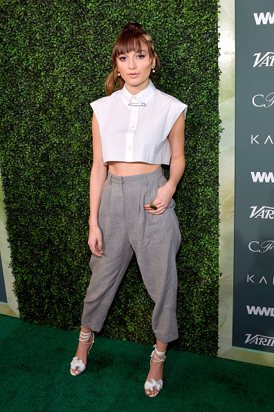 High Waist Pants「Council Of Fashion Designers Of America, Variety And WWD Host Runway To Red Carpet - Arrivals」:写真・画像(14)[壁紙.com]