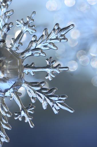 雪の結晶「冬の結晶の背景」:スマホ壁紙(4)