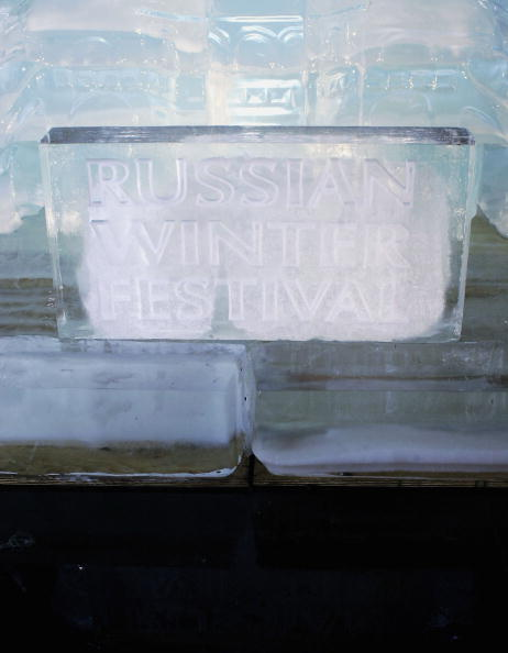 Ice Sculpture「Ice Sculpture Unveiled In Trafalgar Square」:写真・画像(9)[壁紙.com]