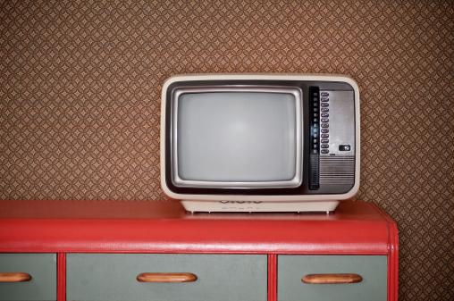 Push Button「Sixties TV On Retro Desk」:スマホ壁紙(0)