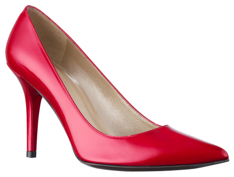 High Heels「Womens-Red heel shoe」:スマホ壁紙(10)