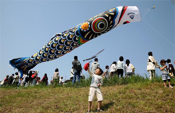 こいのぼり「Japan Celebrates Boys Day With Giant Carp Streamer」:写真・画像(0)[壁紙.com]