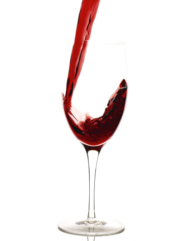 Pouring「Red wine pouring into glass」:スマホ壁紙(13)
