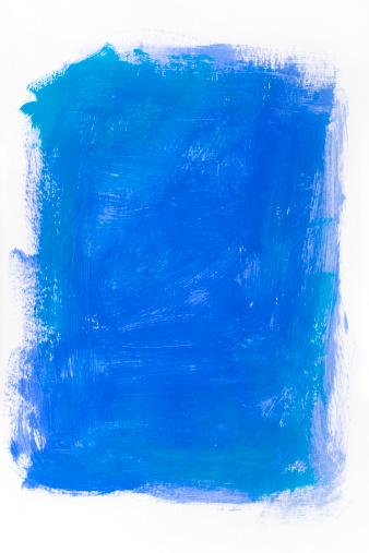 Brush Stroke「Blue backdrop」:スマホ壁紙(7)