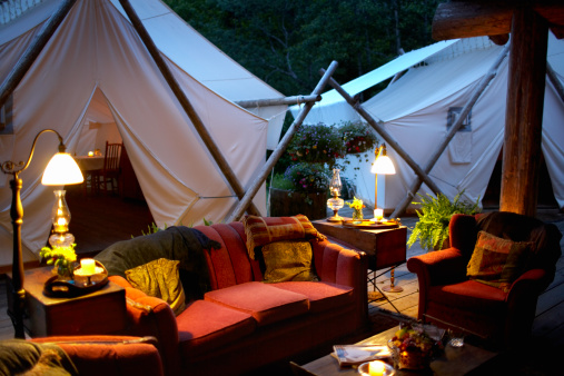 Tent「Outdoor living room and tents.」:スマホ壁紙(11)