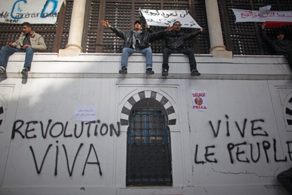 Tunisia「Demonstrations Continue In Tunisia As Calls Come For Dissolution Of Ruling Party」:写真・画像(9)[壁紙.com]