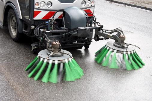 Sweeping「Street cleaning」:スマホ壁紙(12)