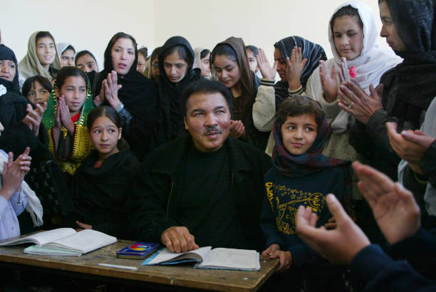 Muhammad Ali Visits Kabul As Messenger Of Peace:ニュース(壁紙.com)