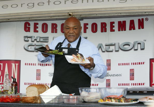 George Foreman「George Foreman Gives London A Grilling」:写真・画像(15)[壁紙.com]