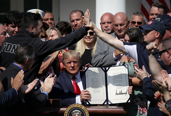 Making Money「President Trump Signs September 11th Victim Compensation Fund Act」:写真・画像(7)[壁紙.com]