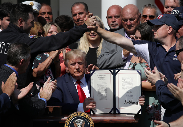 Making Money「President Trump Signs September 11th Victim Compensation Fund Act」:写真・画像(8)[壁紙.com]