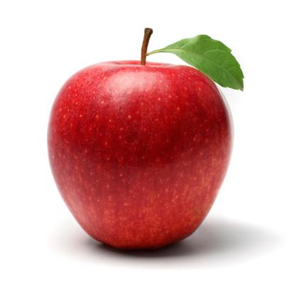 リンゴ「レッドアップル添え」:スマホ壁紙(11)