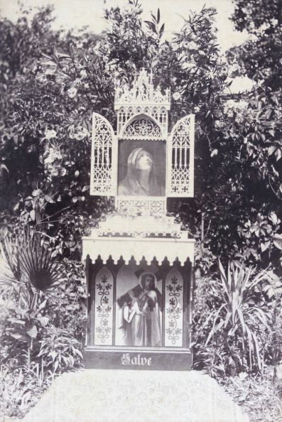 Architectural Feature「Perg: Private Family Altar In A Garden. 1889. Photograph By M. Schmidmayr / Perg And St. Florian. Photograph.」:写真・画像(11)[壁紙.com]