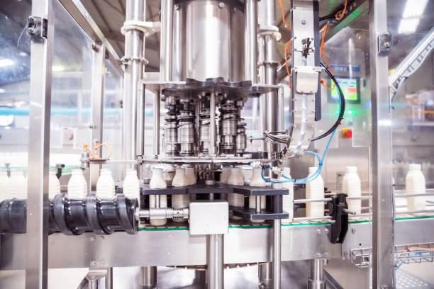 Automatic Milk Bottling Factory in Africa:スマホ壁紙(壁紙.com)