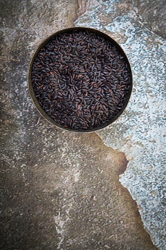 Basmati Rice「Black organic basmati rice in bowl」:スマホ壁紙(12)