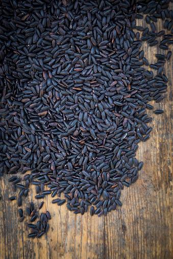 Basmati Rice「Black organic basmati rice in bowl」:スマホ壁紙(14)