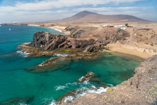 豪華 ビーチ「Spain, Lanzarote, Playas de Papagayo」:スマホ壁紙(8)