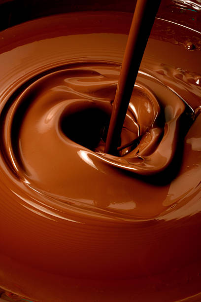 Melted Chocolate Pouring:スマホ壁紙(壁紙.com)