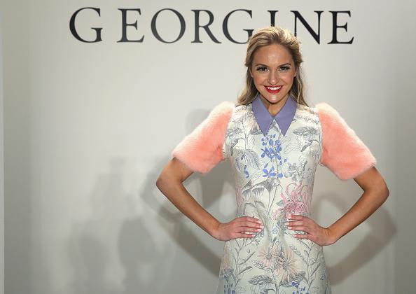 Three Quarter Length「Georgine - Front Row - Fall 2016 New York Fashion Week: The Shows」:写真・画像(17)[壁紙.com]