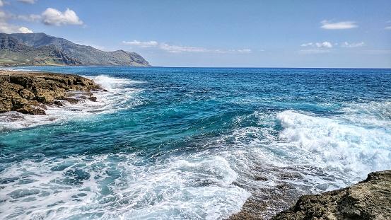 オアフ島「Kaena Point, Oahu, Hawaii, America, USA」:スマホ壁紙(4)