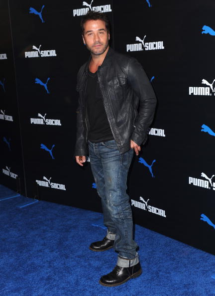 Leather Jacket「PUMA Social Club LA Launch Event - Arrivals」:写真・画像(16)[壁紙.com]