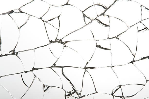 Broken glass:スマホ壁紙(壁紙.com)