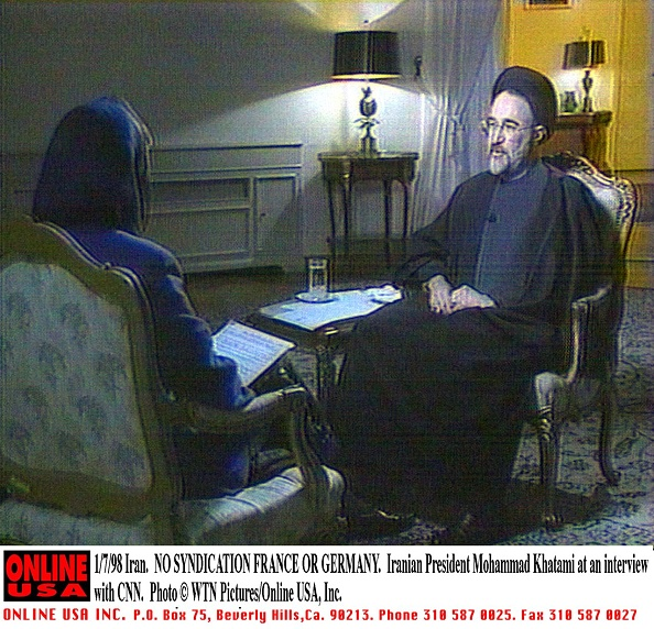 Politician「Iranian President Mohammad Khatami's The United States」:写真・画像(18)[壁紙.com]